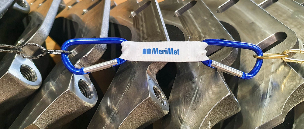 Valu- ja teräskomponenttien sekä kokoonpanojen toimittaja MeriMet.
