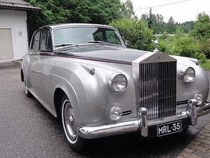 Rolls Royce, vuorkaa hääuto, museoautoistame. Limousinet E. Toikka