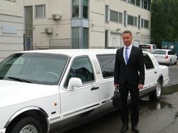 Limousinet E. Toikka TV-kuvauksissa