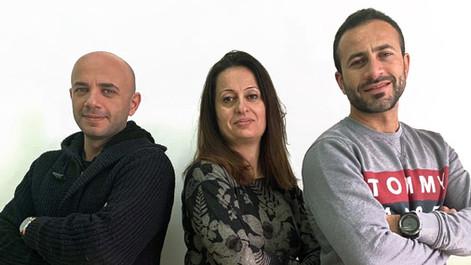 בית ג׳ן | עיזאת  קזאמל, נג'וה אבו עסלה, מרואן ח'ולד