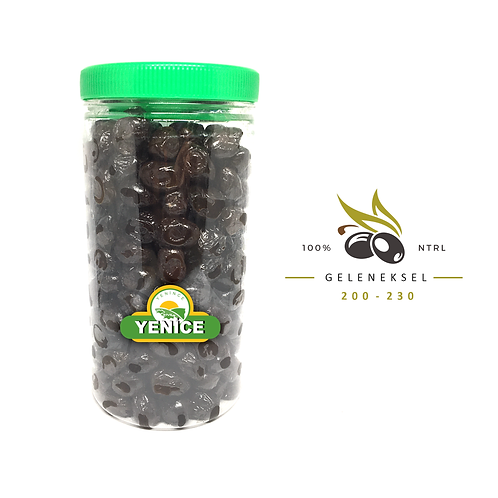 Geleneksel Siyah Zeytin 1kg. ( 200-230 tane )