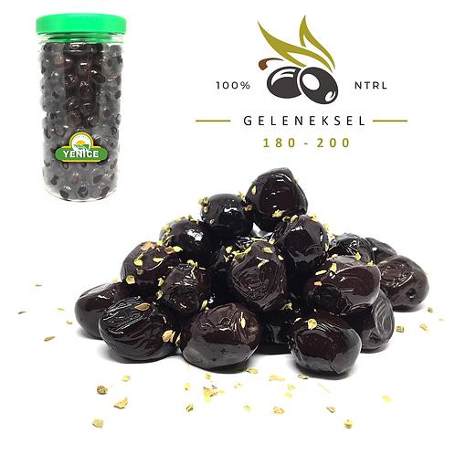 Gurme Siyah Zeytin 1kg. ( 180-200 tane )
