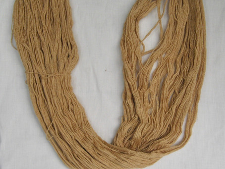 Natural Dyeing - A Golden Colour