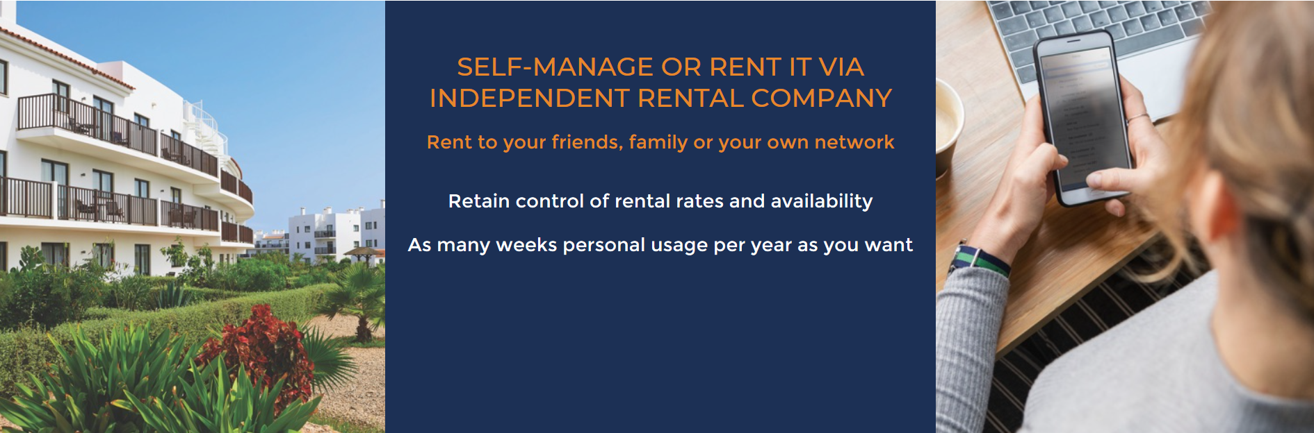 Self Manage or Rent via Independent Co.
