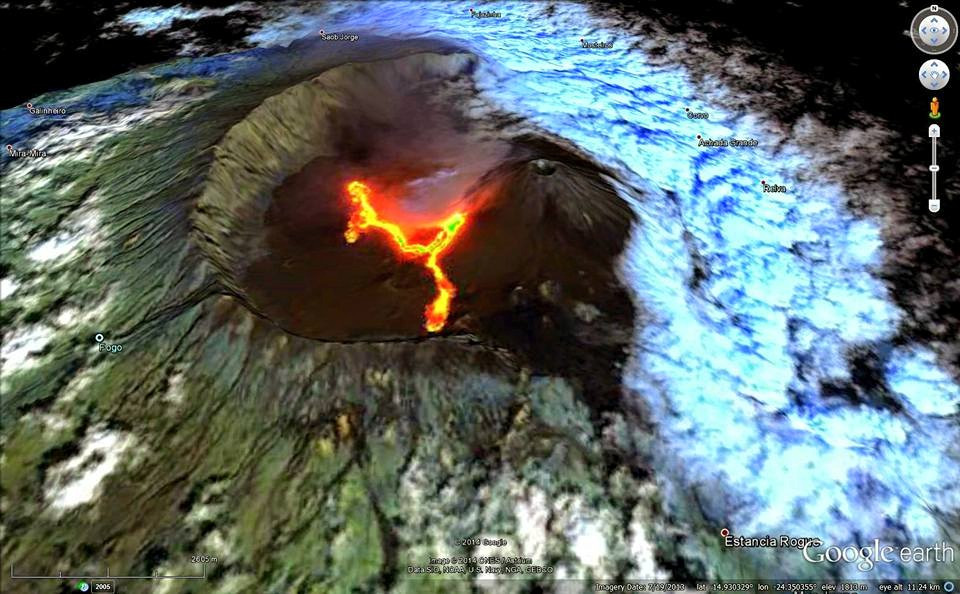 FogoVolcano Eruption