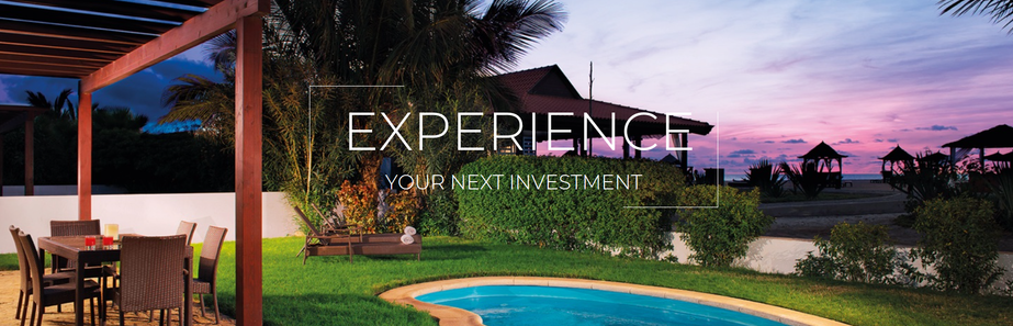 Experience your next investment