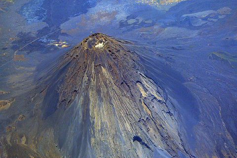 FogoVolcano Aerial View