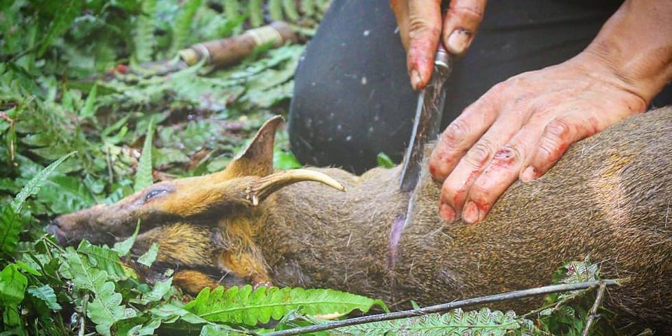 """森のいのちが導く""""気づき""""の狩猟体験"""
