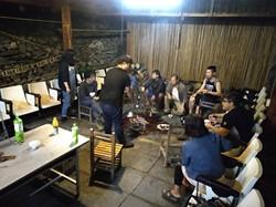 ブヌン族の若者たち