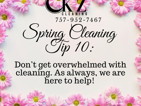 2020 Spring Cleaning Tips!