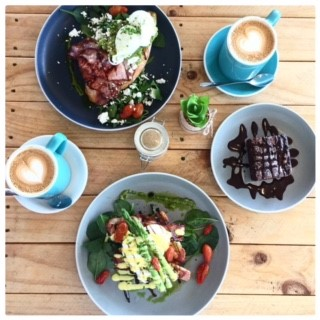 coco and boho breakfast
