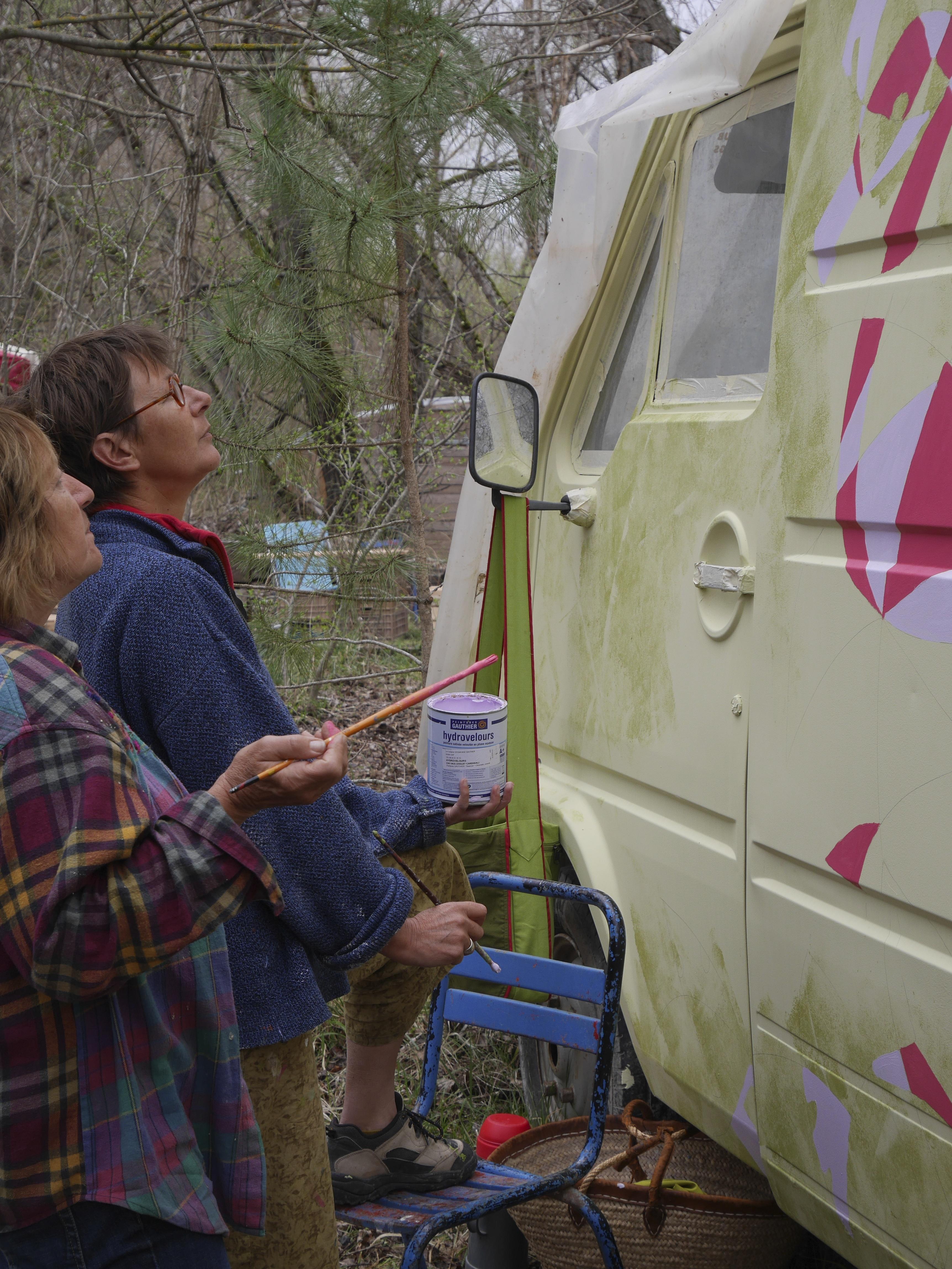 Peinture du camion