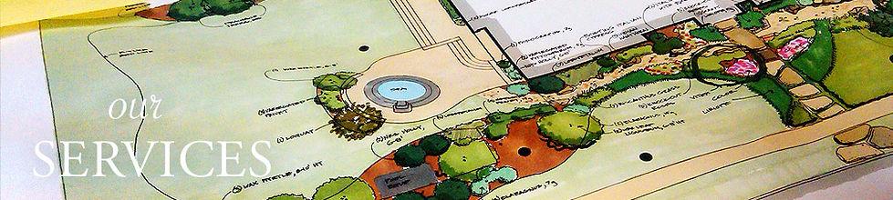 landscape plan drawing