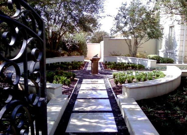 Ornamental Garden Pathways