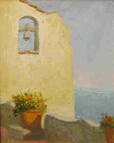 San Tommaso Amilfi Coast 12x9