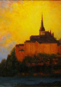 Mount St. Michael 16x20
