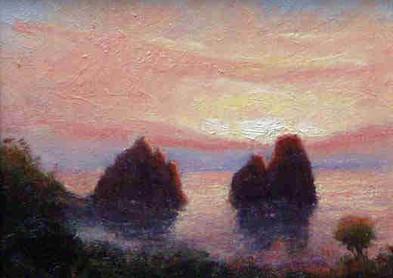 Buon Giorno I Faraglioni Capri 8x10