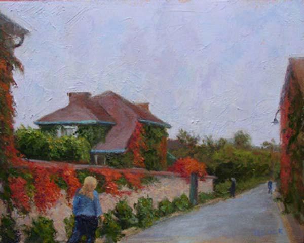 Monet's Back Door 11x14