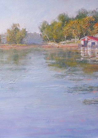 Morning Reflections. 16x20