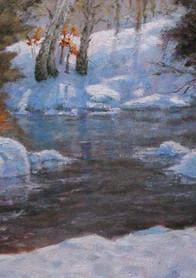 Winters Raphsody  16x20