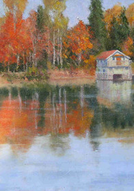 October Tranquillity  18x24