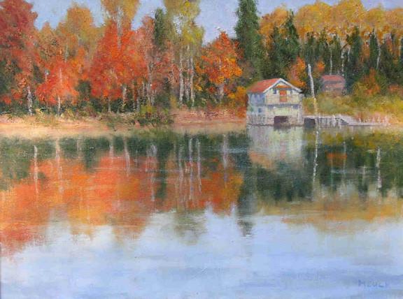 October Tranquillity  18x24