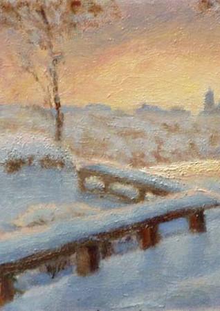 Sunrise At The Heuck's  8x10
