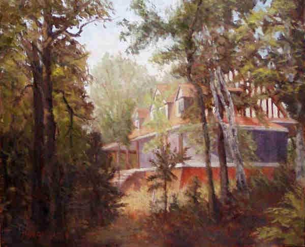 Hubert's Big Cottage 20x24