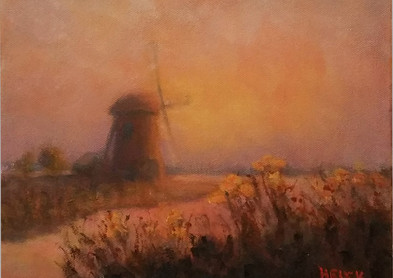 Mill In Holland Oil.jpg