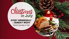 Christmas in July Raffles 2021 event cov