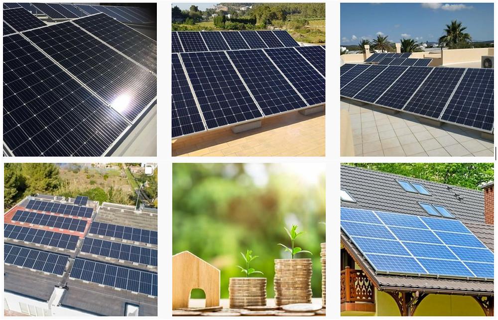 renting placas solares, ejemplos realizados por MASRED, empresa en Valencia