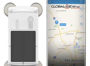 Solar Magnetic GPS Tracking Device - Mag