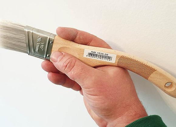 Brosse à réchampir biseautée en 38 mm