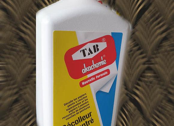 Décolleur concentré de papier peint AKA TAB en 1 Litre #2-36