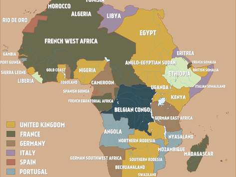Africa is Not a Country: Racist Geography                               By Victoria Falendysh