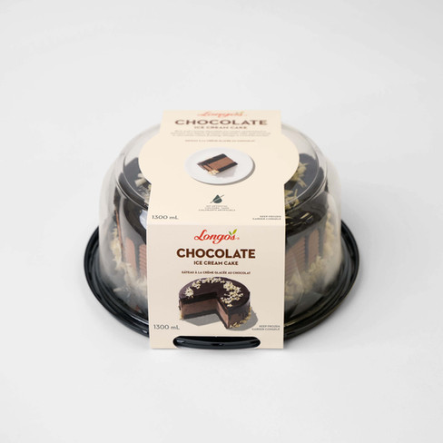 Longo's Chocolate Ice Cream Cake