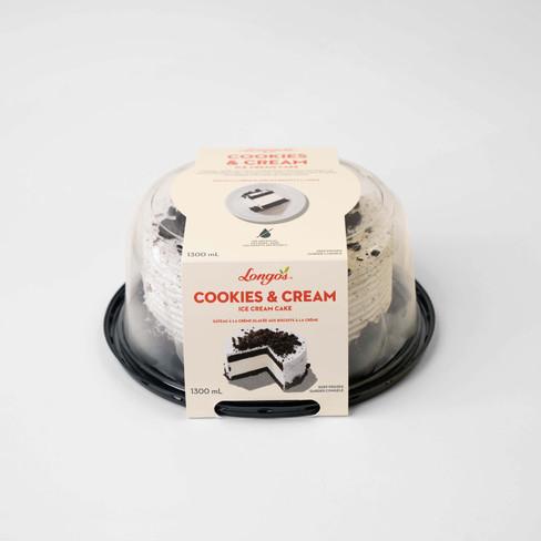 Longo's Cookies & Cream Ice Cream Cake