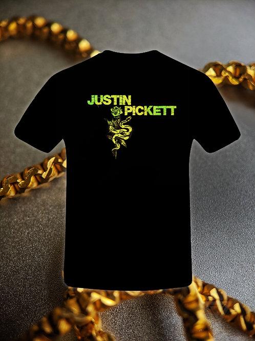 """Justin Pickett """"Snakebite"""" Tee"""