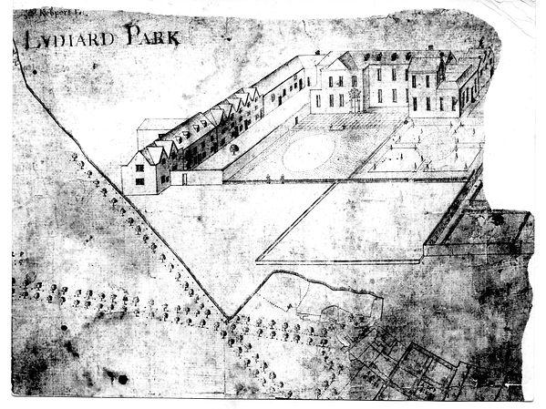 map of Lydiard circa 1700.jpg