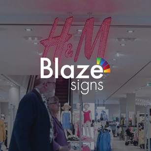 Blaze Signs