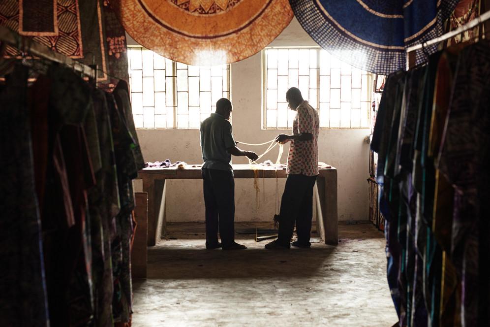 Joseph and Zumana, Workshop, Grand-Bassam
