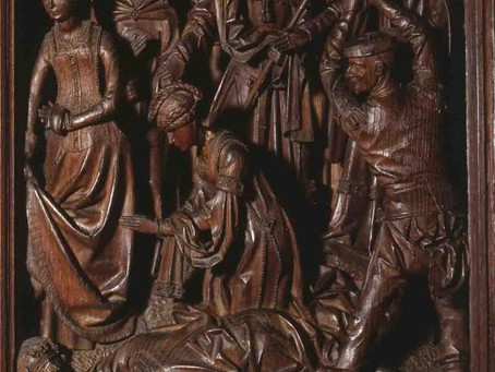 Passier Borreman, de podcast continues - Sint Jorisretabel 1493.