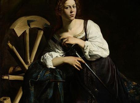 Melk als middel tegen de pest! De H. Catharina van Alexandrië.