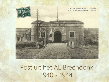Post uit Breendonk AL