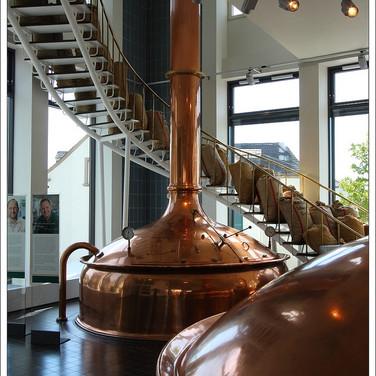 De brouwerij in Bitburg.