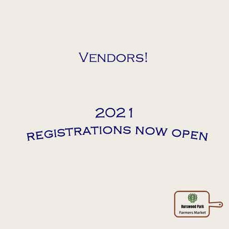 Registrations anew -