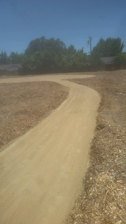 Labyrinth - Paved road