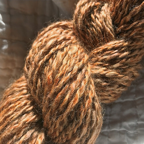 100% Mohair Hand Spun Yarn, Two Ply, Bulky Weight