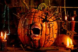 Screaming Pumpkin (or, Oh My Gourd!)
