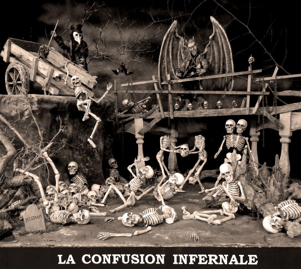 La Confusion Infernale - B&W